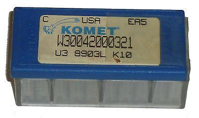 8 Komet W30042000321 Carbide Inserts K10