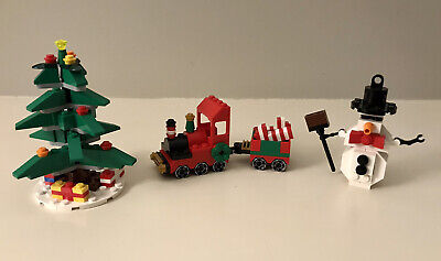 Lego Holiday Set of 3 (40024) (40034) (30008) *Complete*