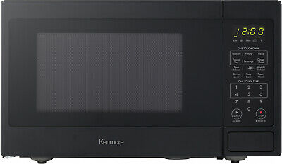 microwave oven countertop small black stainless steel