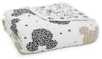 Aden & Anais Classic Dream Cotton Muslin Baby Blanket Mickey