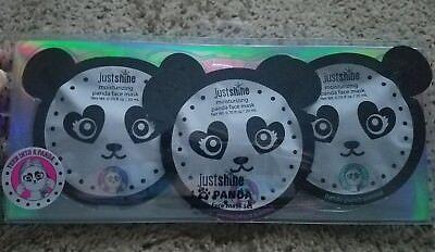 Girl's Justice adorable 3 pack panda face masks