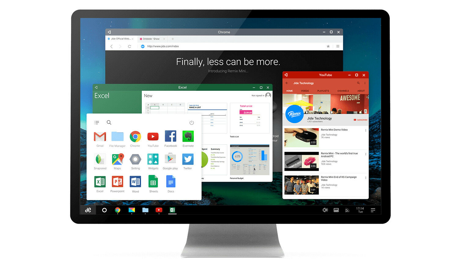 Remix OS USB ANDROID OPERATING SYSTEM For WINDOWS PC LAPTOP TABLET Apps