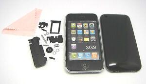Backcover Rückschale Akkudeckel Gehäuse Battery Cover Tasten für iPhone 3G 3GS