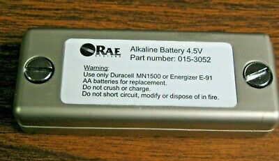 Rae Systems 015-3052-001 Alkaline Battery Adapter For Qrae Plus