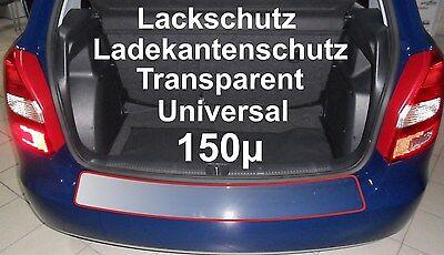 Lackschutzfolie Ladekantenschutz Folie universal  transparent 150µ 100x20cm