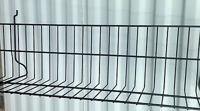 48 Display Wire Rackshelf For Pegboard Or Slatboard Black In Color