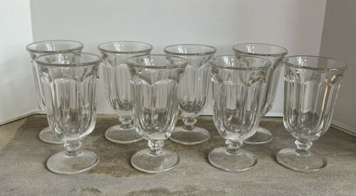 Set/8 * Imperial Glass * OLD WILLIAMSBURG * CLEAR Iced Tea