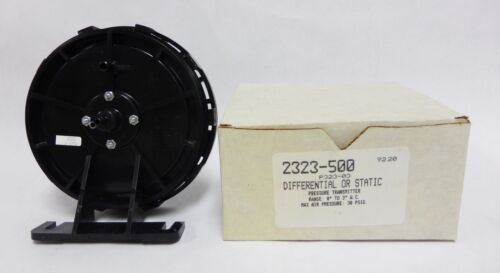 Robertshaw 2323-500 Differential or Static Pressure Transmitter - New (A-26)