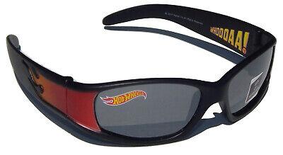 HOT WHEELS MATTEL Boys 100% UV Shatter Resistant Wrap-Style Sunglasses NWT  (Hot Wheels Sunglasses)