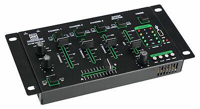BLUETOOTH DJ MIXER USB SD 4-KANAL MISCHPULT PARTY SOUND RACK MISCHER 10 BAND EQ