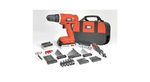 Black & Decker 20V Power Drill Set