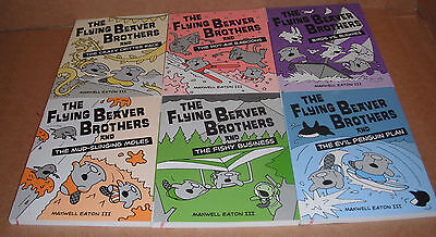 The Flying Beaver Brothers Vol.1,2,3,4,5,6 by Maxwell, III Eaton Paperback NEW
