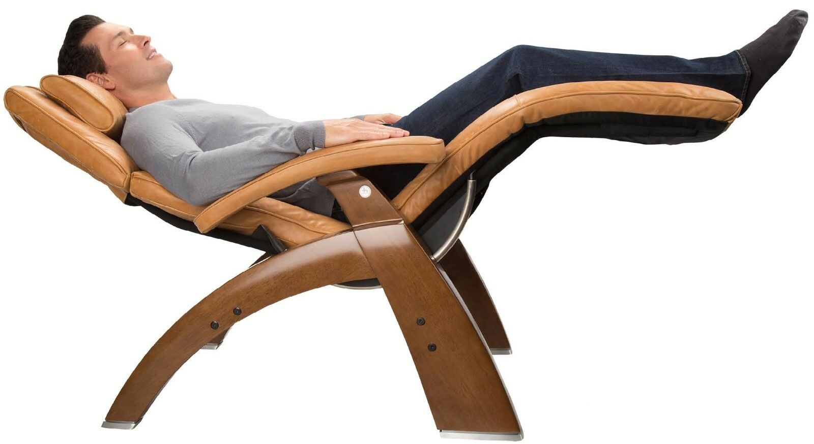 Human Touch PC-420 Perfect Chair Manual Zero Gravity Sycamor