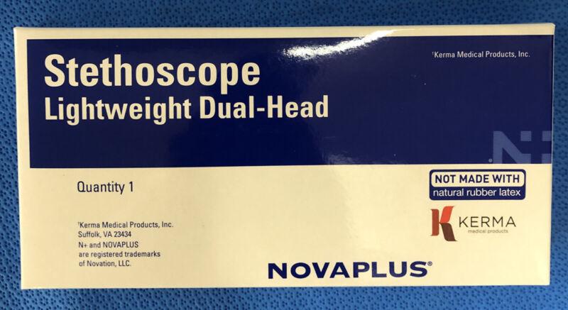 Kerma Novaplus V4315A, Stethoscope Lightweight Dual-Head Green