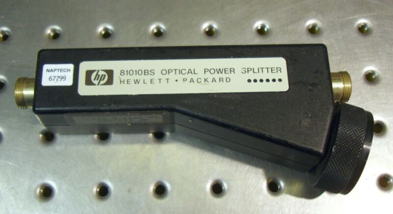 HP 81010BS OPTICAL POWER SPLITTER , HEWLETT PACKARD / AGILENT
