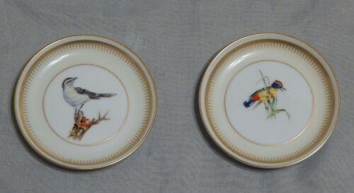 Vista Alegre Portugal Pair of Bird Coasters