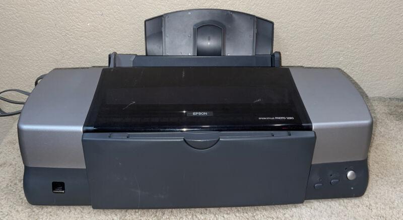 Epson Stylus Photo 1280 Photo Inkjet Printer Model P158A AS IS *Free-Ship*