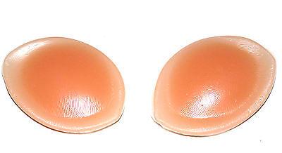2 Schöne große SILIKON Einlagen für BH / Bikini Cup A,B,C,D PUSH UP Kissen NEU