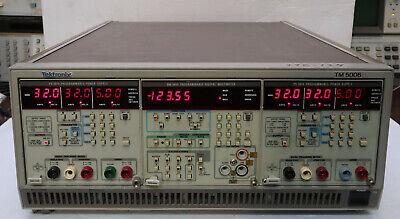 Tektronix Tm5006 Mainframe - W 2 X Ps5010 1 Dm 5010