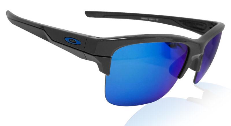 Oakley Thinlink Grey Frame Sapphire Iridium Blue Lens Authentic New OO9316-0463