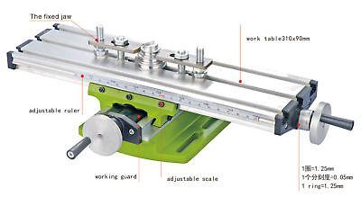 Diy Multi-function Milling Machine Mini Lathe W Cross Sliding Table 31090mm Us