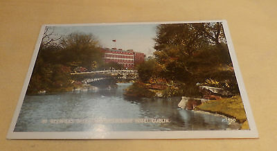 @ POSTCARD - ST STEPHEN'S GREEN & SHELBOURNE HOTEL - DUBLIN - IRELAND - (B)