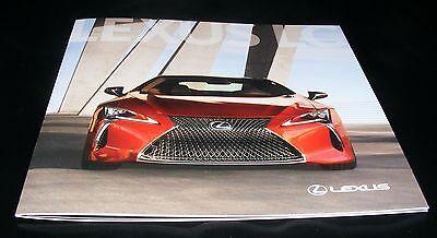 Lexus LC Brochure 2016 / 2017