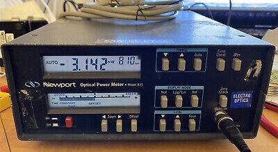 Newport Analog Optical Power Meter Model 835