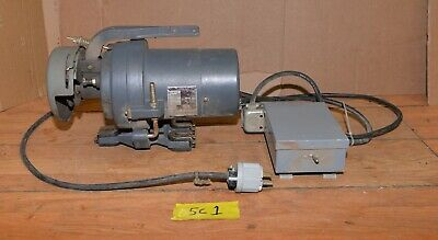 Industrial Sewing Machine Clutch Motor Transmitter 12 Hp Ph3 Commercial Sc1