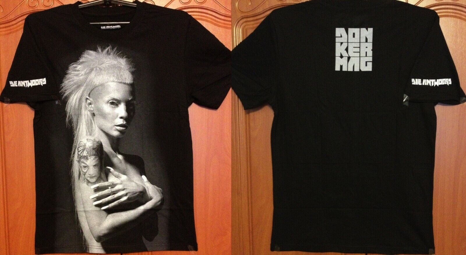 DIE ANTWOORD Donker Mag Yolandi Visser RARE Authentic Official Licensed T-Shirt