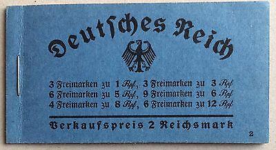 Dt. Reich Markenheftchen Mi.Nr. 35 Hindenburg 1934 postfrisch