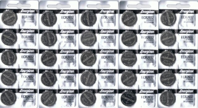 25 New ENERGIZER CR2032 Lithium 3v Coin Battery Australia Stock FAST SHIPPING