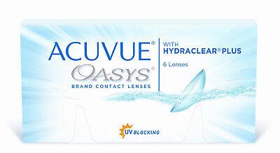 Acuvue Oasys Hydraclear plus neueste Generation mit UV Schutz 1x6 Kontaktlinsen
