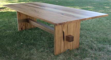 Hardwood - Messmate dining table - New timber with recycled look