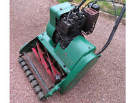 Lawn Mower Suffolk Punch 35s petrol with grass box.