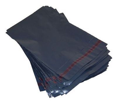 100 Strong Grey Mailing Bags 6