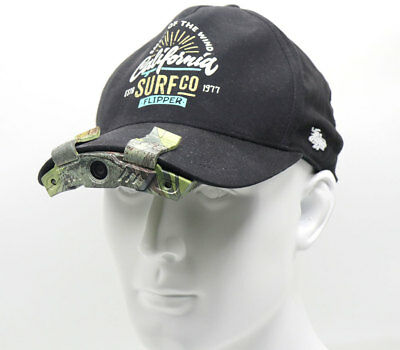Cap Hat Brim Clip Camera Video Recording for Hunting Miltary Camping Sport 1080P