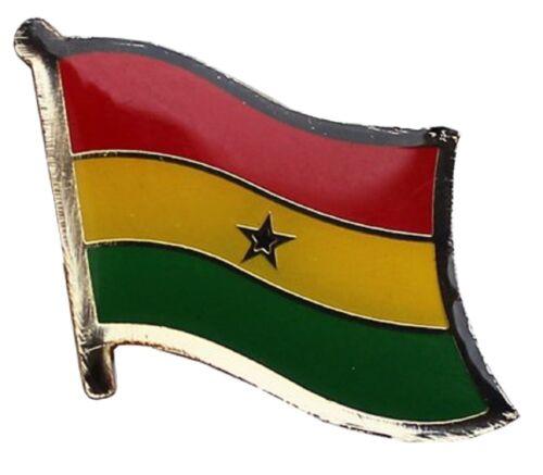 Ghana Flag Lapel Hat Pin FAST USA SHIPPING