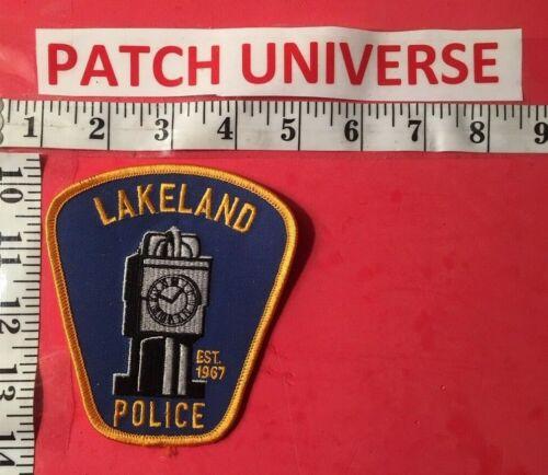 LAKELAND OHIO POLICE  SHOULDER PATCH  S062