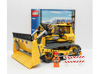 Details about Lego City 7685 Bulldozer. 1 of the doors is missing and a couple of pieces repl