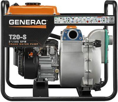 Generac 6920 T20-s 2-inch Trash Pump With 211cc Ohc Subaru Engine