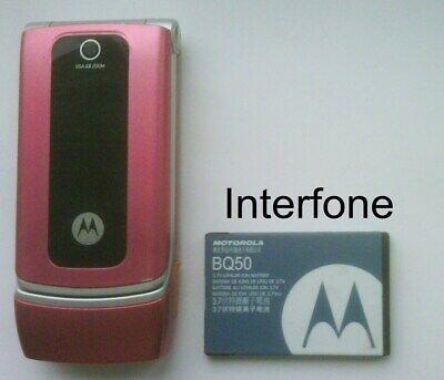 Motorola W375 Mobile Phone-V/Good Cond-Locked to Orange-Optional Charger Bundle