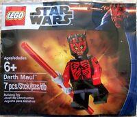LEGO STAR WARS SHIRTLESS DARTH MAUL MINIFIGURE IN POLYBAG