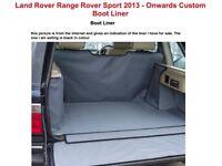 Titan Boot Liner for Range Rover Sport