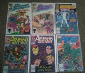 11 West Coast Avengers Marvel Comics Bundle
