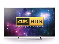 "SONY BRAVIA KD43XD8088 43"" 4k HDR Android smart TV"