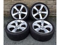 "22"" alloy wheels tyres 6x114.3 Nissan Navara Pathfinder 05 onwards"