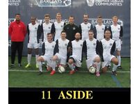 FIND FOOTBALL TEAM IN LONDON, JOIN 11 ASIDE FOOTBALL TEAM, PLAY IN LONDON, FIND A SOCCER TEAM
