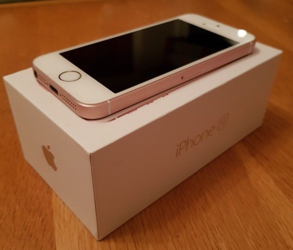 Apple Iphone Se 64gb Rose Gold Unlocked Smartphone In Camden