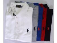 Mens Ralph Lauren Polos Half Sleeve for Wholesale only